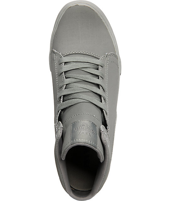 Supra TK Society Mid Tuf Grey Gunny Shoes