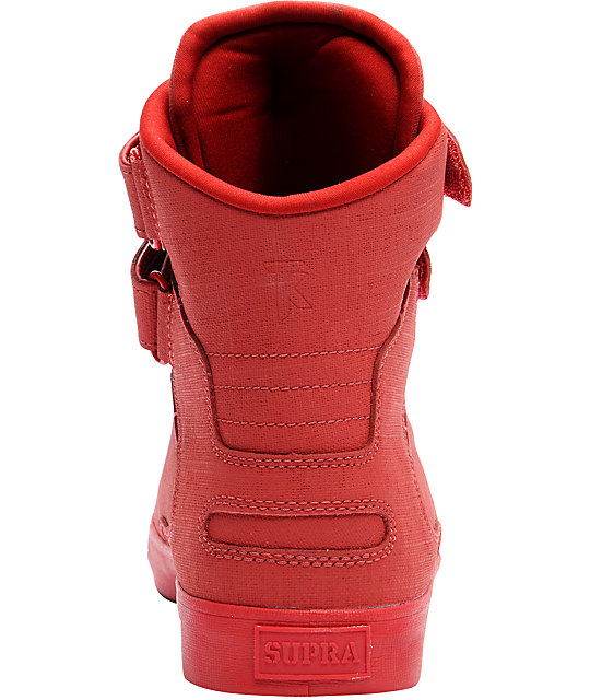 purchase cheap e7ff2 2434a ... Supra TK Society Red Gunny Tuf Shoes ...