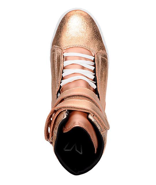c45022776d95 ... Supra TK Society Rose Gold Shoes ...