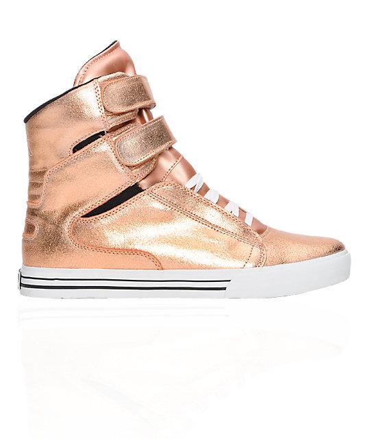 9652fa9782bf Supra TK Society Rose Gold Shoes