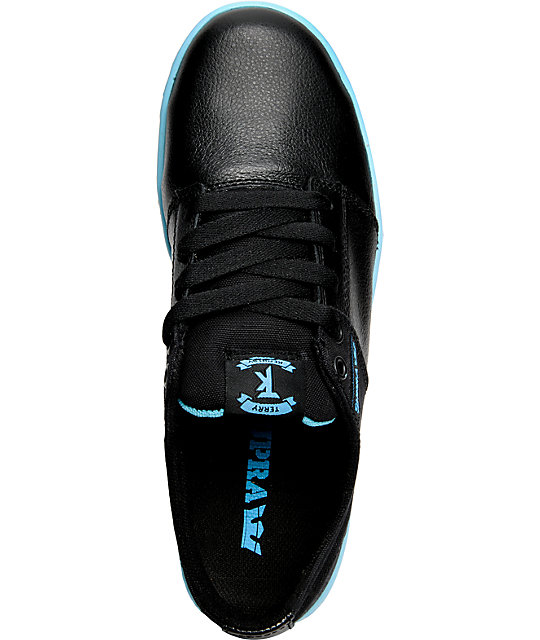 Supra TK Stacks Black & Blue Shoes