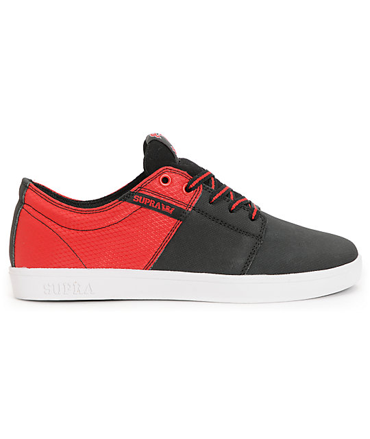 Supra TK Stacks Black & Red Raptor Tuf Shoes