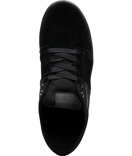 Supra TK Stacks Black Skate Shoes
