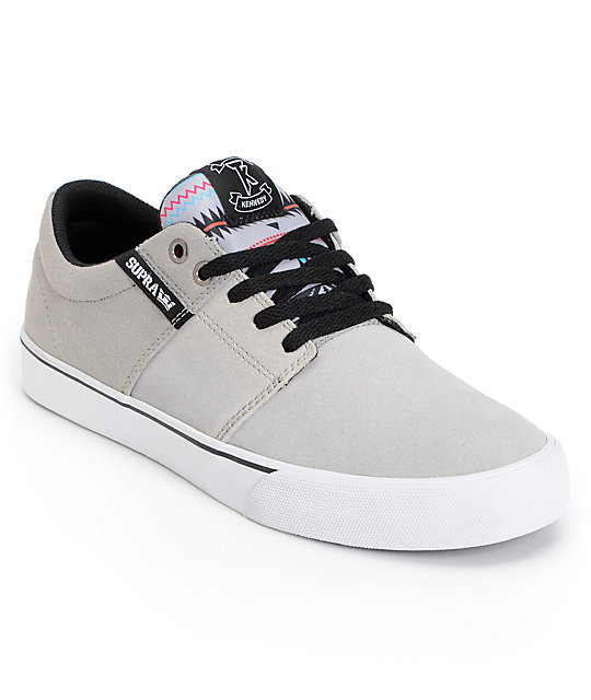 Supra TK Stacks Vulc Southwest & Grey Skate Shoes ...