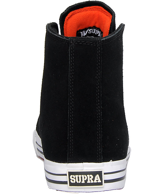 Supra Thunder Black Suede Shoes