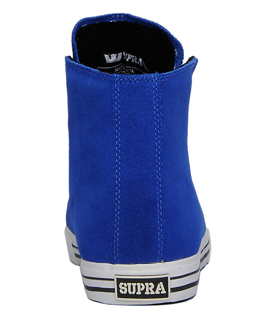 Supra Thunder Blue Suede Shoes