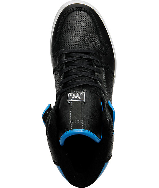 Supra Vaider Black, Grey & Blue Shoes