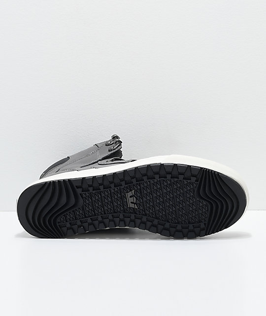 Supra Vaider CW Charcoal, White & Plaid Shoes