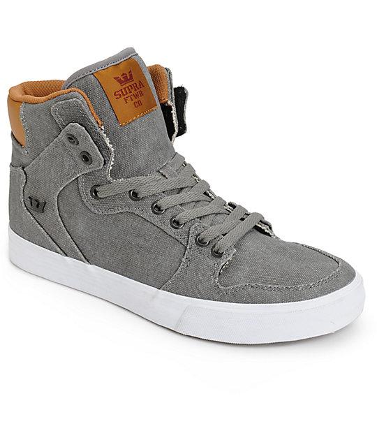 Supra Vaider Canvas Skate Shoes  e2c312717