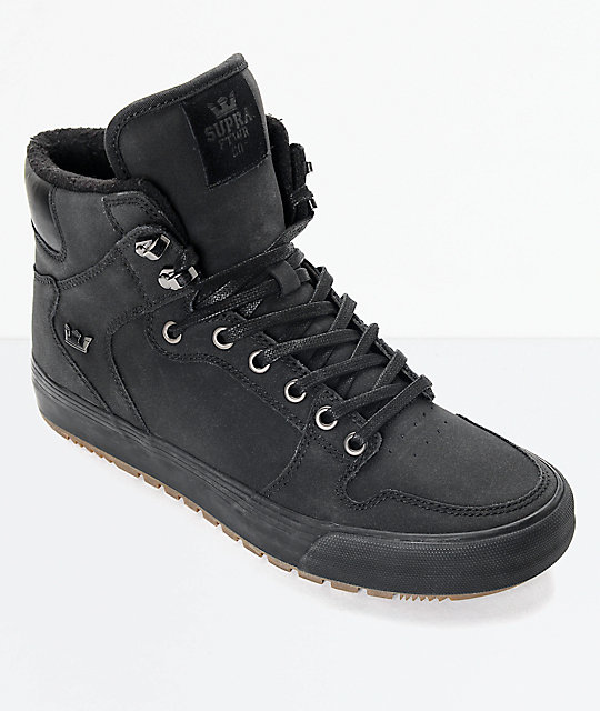 596b609991be Supra Vaider Cold Weather Black   Gum Boots