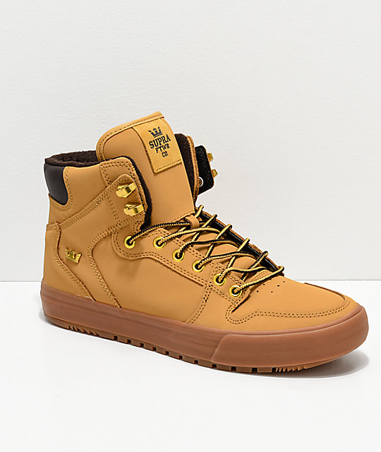 a56df1bf886f Supra Vaider Cold Weather Wheat   Gum Boots
