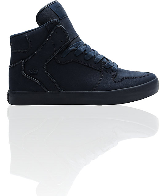 Supra Vaider Navy Gunny Tuf Shoes
