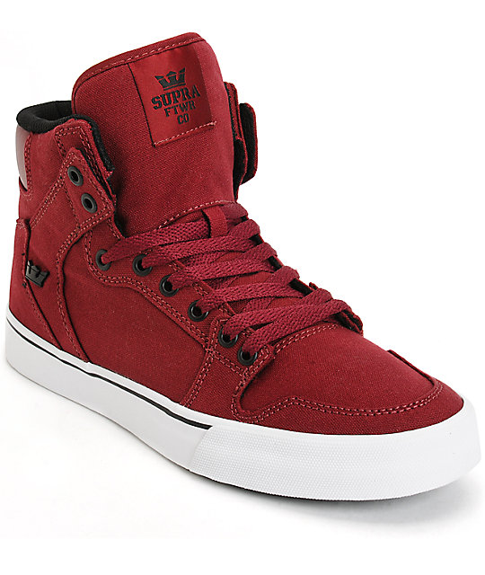 Red Dc Skate Shoes
