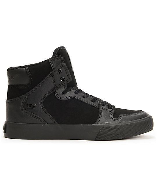 Zapatos negros SUPRA Vaider infantiles nOsJyrj