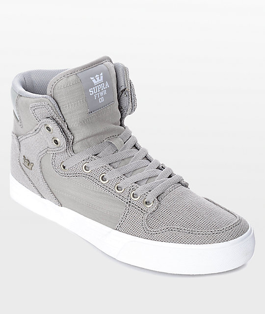 Zapatos grises SUPRA Vaider para mujer qGdkB