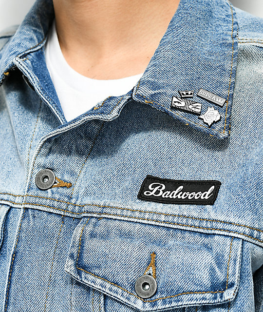 Supra x Badwood Denim Jacket