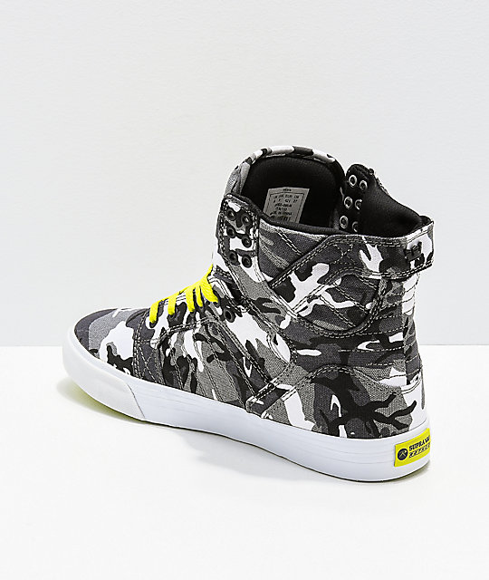 Supra x Rothco Skytop City Camo Skate Shoes