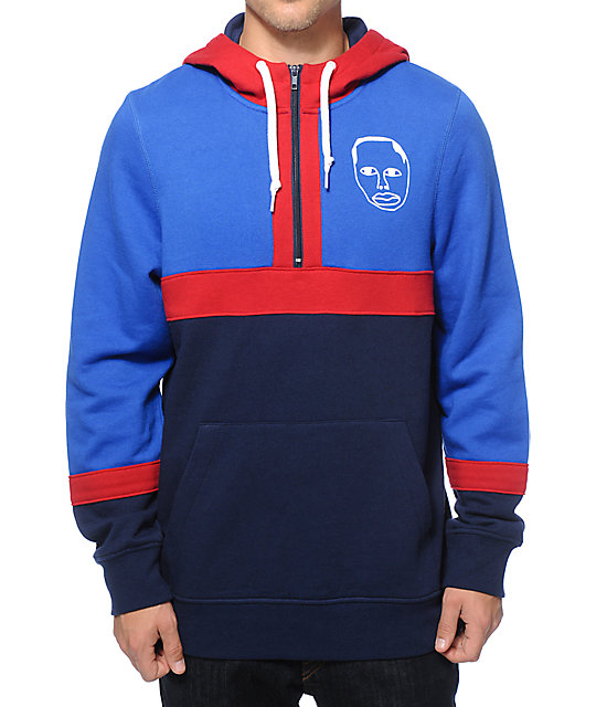 Sweatshirt By Earl Sweatshirt Earl Half Zip Up Hoodie Zumiez