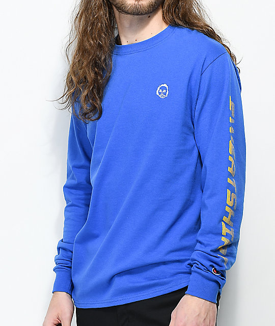 1c5b912f0cd9 Sweatshirt By Earl Sweatshirt Premium Royal Blue Long Sleeve T-Shirt ...