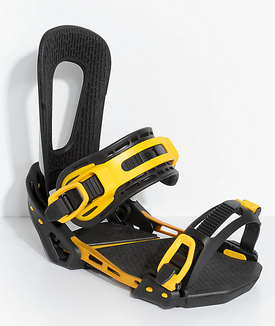 Switchback Forever Black Snowboard Bindings