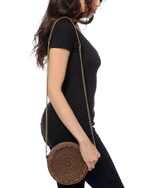 T-Shirt & Jeans Round Crossbody Pruse