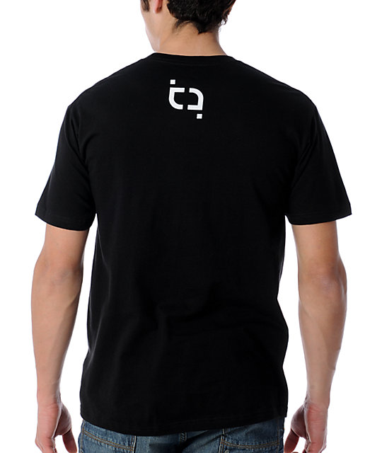 TMLS All White Black T-Shirt