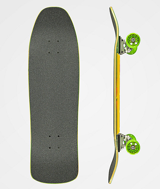 "TMNT x Santa Cruz Turtle Power 9.3"" tabla de skate"