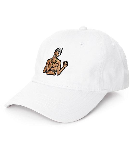 TMT Thug Life White Dad Hat  f43f1ed0f58