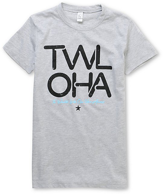 TWLOHA Tubes Grey T-Shirt