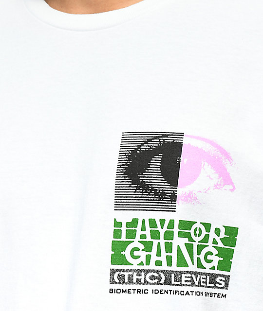 Taylor Gang THC Levels White T-Shirt