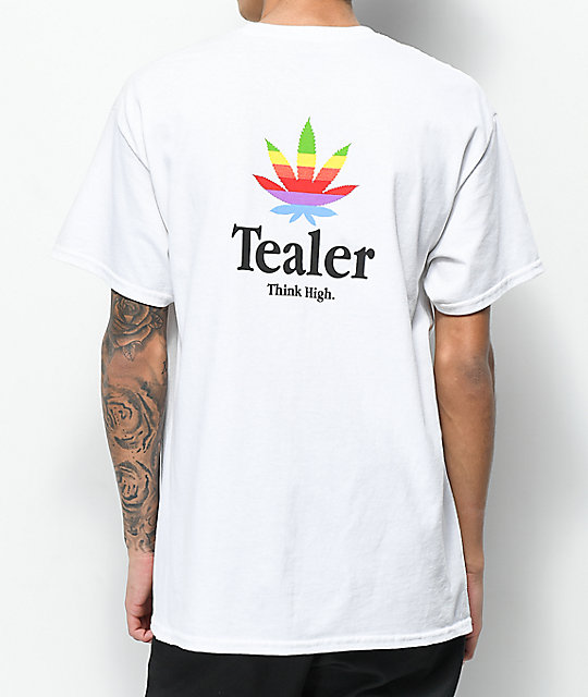 Tealer Think High White T-Shirt