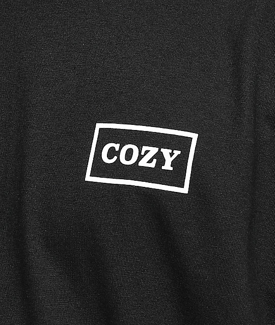Team Cozy Multiblock Black T-Shirt