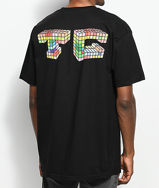 Team Cozy Multiblock camiseta negra