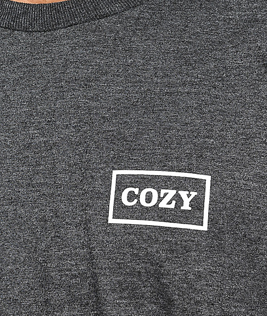 Team Cozy Photogram Grey T-Shirt