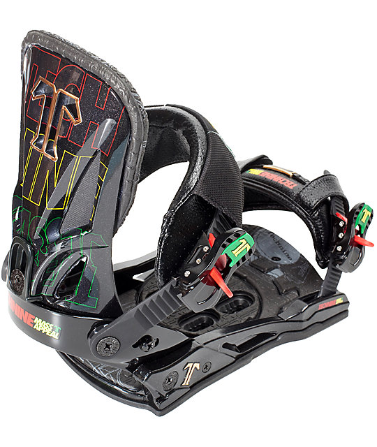 Technine Mass Appeal Mens Snowboard Bindings