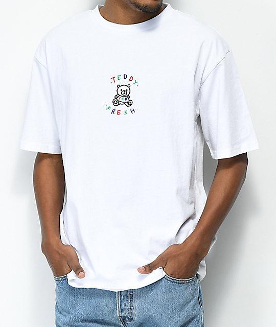 Teddy Fresh Embroidery White T Shirt Zumiez