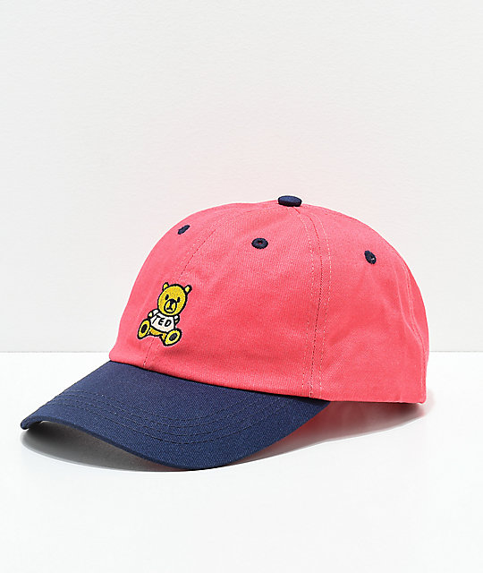 Teddy Fresh Red & Blue Strapback Hat