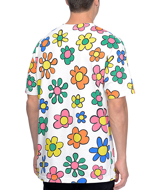 Teenage Brain Dead White T Shirt Zumiez