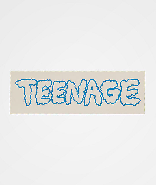 Teenage Cloudy Sticker