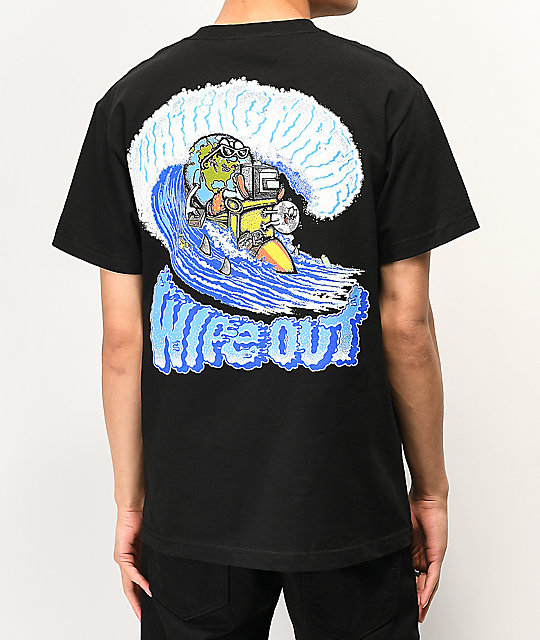 Teenage Wipeout camiseta negra