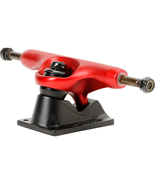 Tensor Magnesium 5.25 Red & Black Skateboard Truck