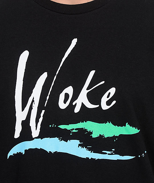 The Artist Collective LA Woke camiseta negra