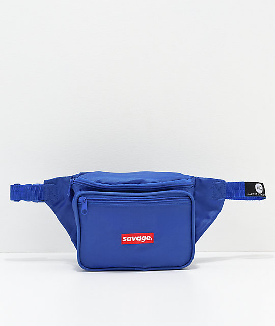 The Artist Collective Savage Box Blue Fanny Pack