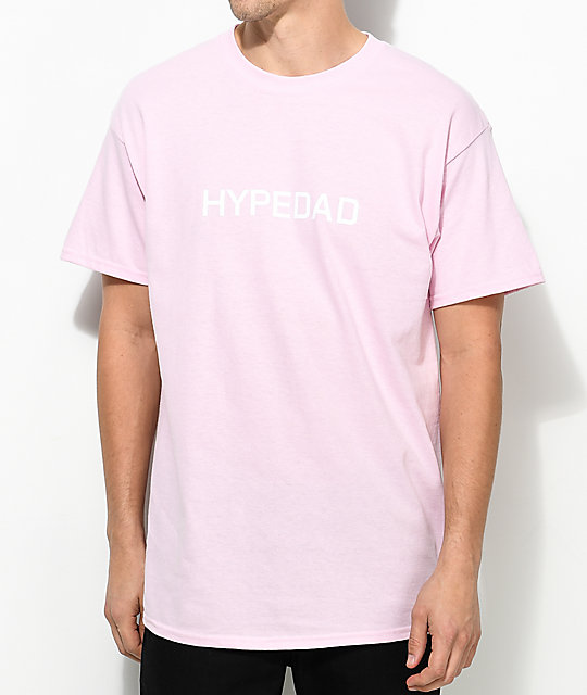 The Bad Dads Club Hypedad Pink T-Shirt
