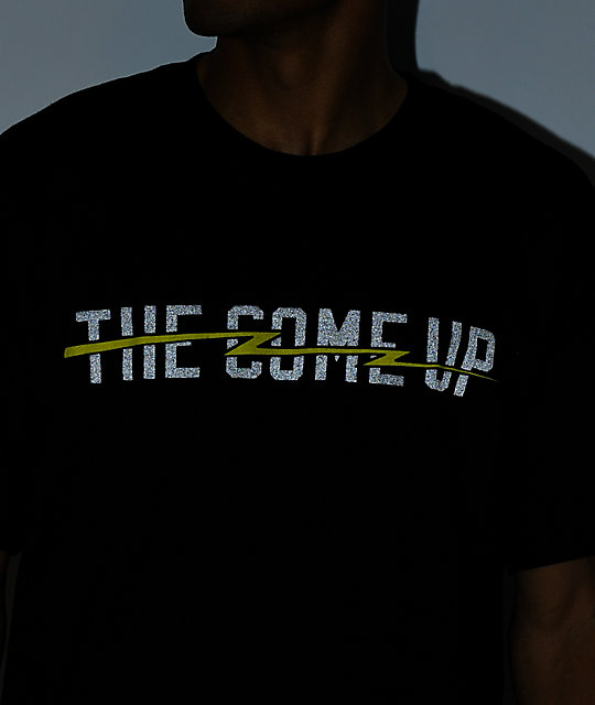 The Come Up Lightning Black T-Shirt