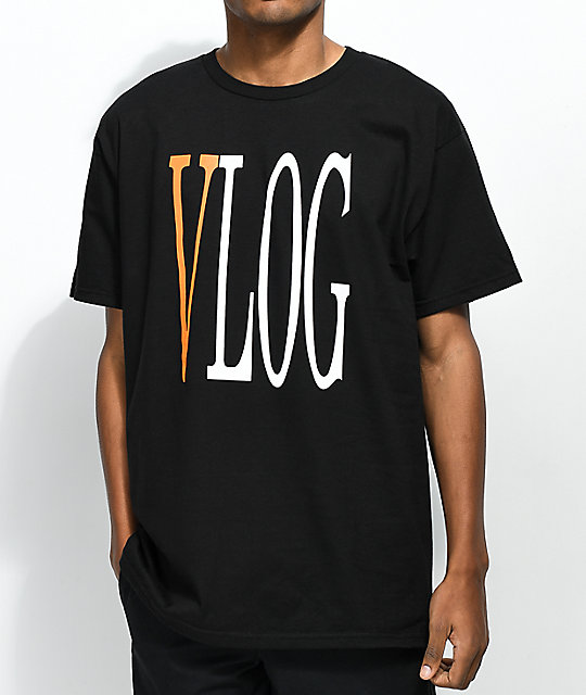 The Come Up Vlog Black T-Shirt