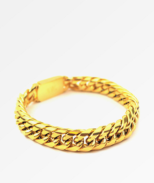 The Gold S Cuban Link Bracelet