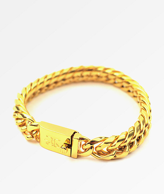 The Gold S Cuban Link Bracelet
