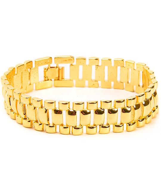 The Gold S Watch Link Bracelet