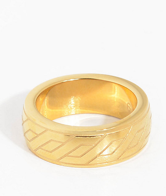 The Gold Gods Midas anillo de oro